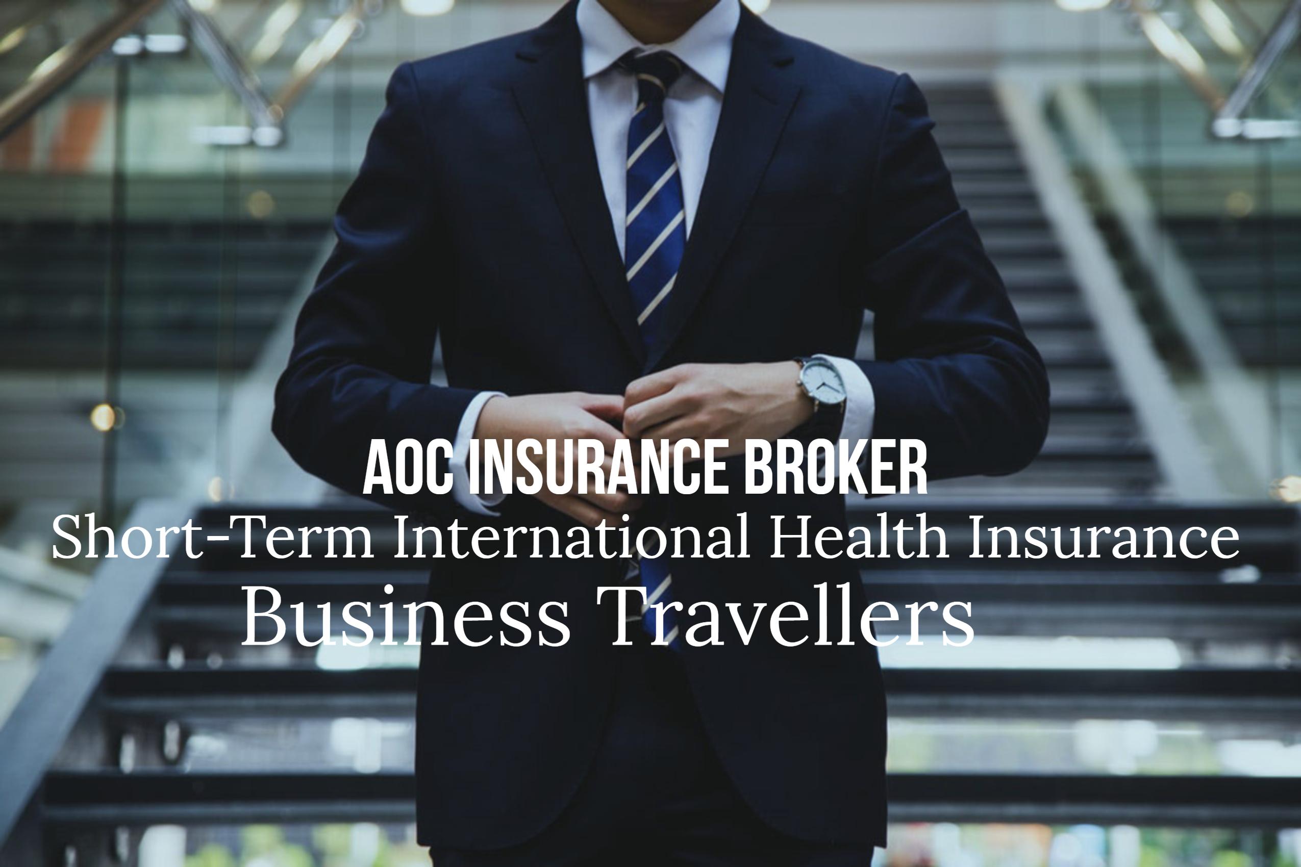 Short term travel health insurance | AOC Insurance Broker